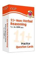New 11+ CEM Non-Verbal Reasoning Practice Question Cards - A -