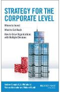 Strategy for the Corporate Level - Andrew Campbell