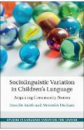 Studies in Language Variation and Change - Jennifer Smith