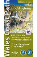 Isle of Anglesey Coast Path Map -