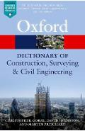 Dictionary of Construction, Surveying, and Civil Engineering - Christopher Gorse