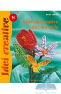 Idei creative 16 - Flori decorative din margele