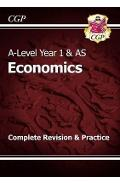 A-Level Economics: Year 1 & AS Complete Revision & Practice -