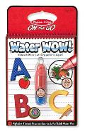Water Wow! Carnet de colorat, Apa magica. Litere