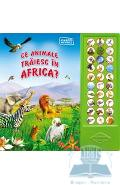 Ce animale traiesc in Africa? - Carte sonora