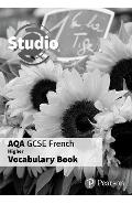 Studio AQA GCSE French Higher Vocab Book (pack of 8)