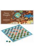 Dames draughts. Joc dame