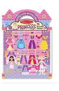 Reusable puffy stickers, Princesses. Abtibilduri reutilizabile pufoase, Printese
