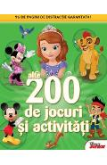 200 de jocuri si activitati vol.2 Disney Junior