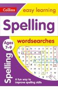 Spelling Word Searches Ages 7-9