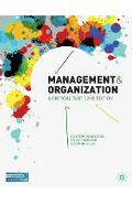 Management and Organization