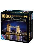 Puzzle 1000 Discover Europe: Tower Bridge. London