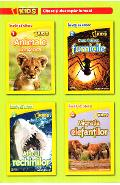 Set 4 volume National Geographic Kids: Citesc si descopar lumea!