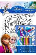 Disney, Colouring set. Set de colorat, Frozen