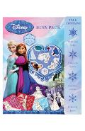 Disney, Busy pack. Set de colorat si stickere Frozen