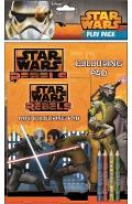 Star Wars Rebels, Play Pack. Set de colorat, Razboiul stelelor