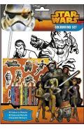 Star Wars Rebels, Colouring set. Set de colorat, Razboiul stelelor