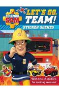 Fireman Sam: Let's Go, Team! Sticker Scenes
