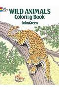 Wild Animals Colouring Book