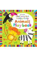 Baby's Very First Touchy-feely Animals Play Book