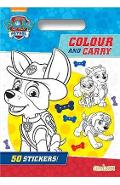 Paw Patrol Colour & Carry