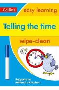 Telling the Time Wipe Clean Activity Book