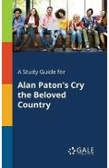 Study Guide for Alan Paton's Cry the Beloved Country