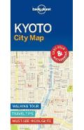 Lonely Planet Kyoto City Map -