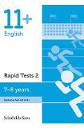 11+ English Rapid Tests Book 2: Year 3, Ages 7-8