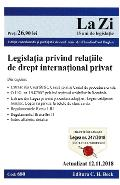 Legislatia privind relatiile de drept international privat act. 12.11.2018
