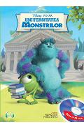 Disney Pixar - Universitatea Monstrilor + CD (Lectura: Florian Ghimpu)