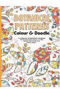 Colour Therapy, Botanical patterns. Carte de colorat antistress, Modele Botanice