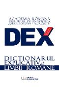 Dex - dictionar explicativ al limbii romane. Ed.2016