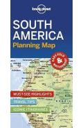 Lonely Planet South America Planning Map -