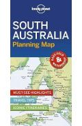 Lonely Planet South Australia Planning Map -