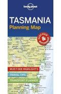 Lonely Planet Tasmania Planning Map -