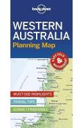 Lonely Planet Western Australia Planning Map -