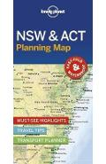Lonely Planet New South Wales & ACT Planning Map -
