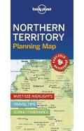 Lonely Planet Northern Territory Planning Map -