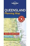 Lonely Planet Queensland Planning Map -