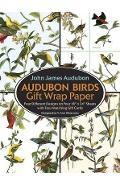 Audubon Birds Gift Wrap Paper - John James Audubon