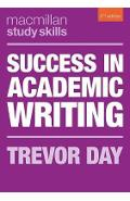 Success in Academic Writing - Trevor Day