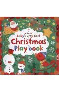 Baby's Very First Touchy-Feely Christmas Play book - Fiona Watt