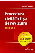 Procedura civila in fise de revizuire Ed.2 - Mihaela Tabarca