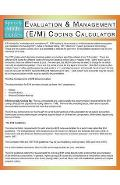 Evaluation & Management (E/M) Coding Calculator