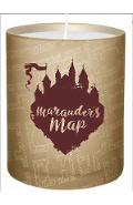 Harry Potter: Marauder's Map Glass Candle -