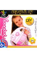 Creative Kit, Flowery handbag. Set poseta cu motive florale