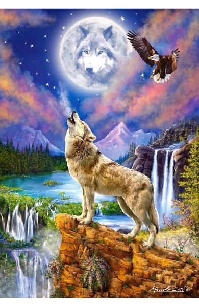 Puzzle 1500. Wolf's Night