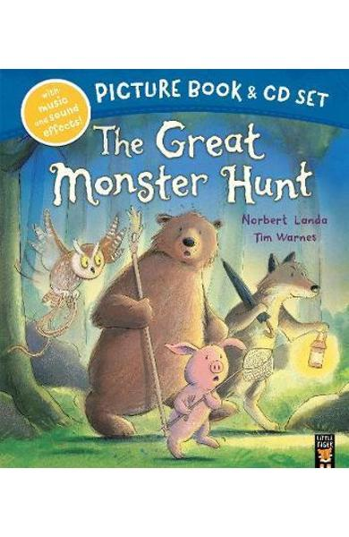 Great Monster Hunt Book & CD