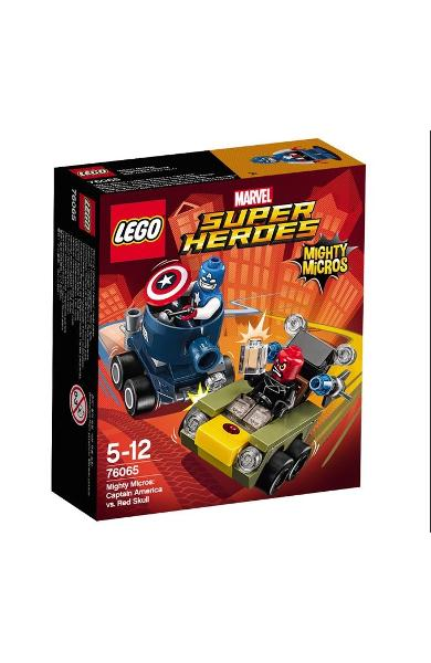 Lego Marvel Super Heroes Captain America vs Red Skull 5-12 Ani